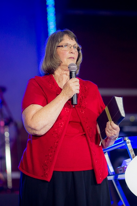 Carolyn Bailey teaches God's Word